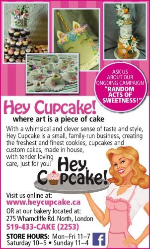 Hey Cupcake! where art is a piece of cake
