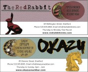 The Red Rabbit and  OKAZU