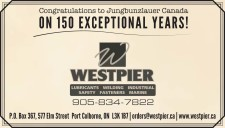 Congratulations to Jungbunzlauer Canada ON 150 EXCEPTIONAL YEARS!