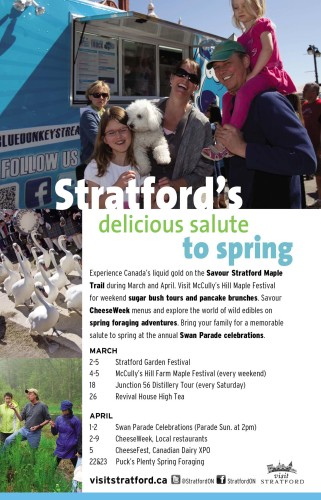 Stratford's delicious salute to spring