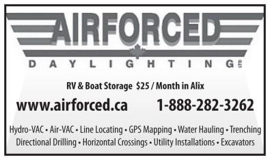 RV & Boat Storage $25/Month in Alix