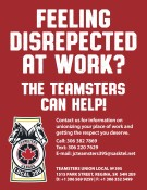 FEELING DISRESPECTED AT WORK?