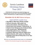 Sarnia Lambton Christmas Home Tour 2017