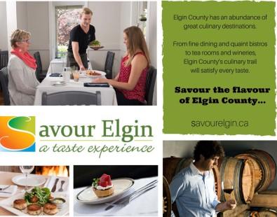 Elgin County has an abundance of great culinary destinations.