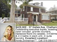 Outstanding completely remodelled duplex for sale