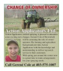 Action Applicators custom spraying is pleased to announce some exciting new changes