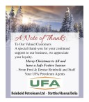 A Note of Thanks To Reinbold Petro Valued Customers