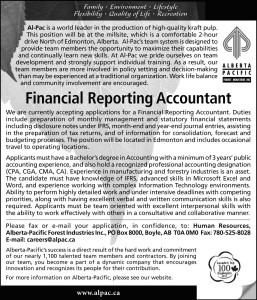 Financial Reporting Accountant