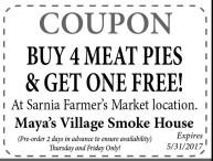 BUY 4 MEAT PIES & GET ONE FREE!