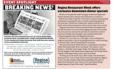 Try the amazing new Regina Restaurant Week 2018
