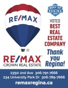 Remax Crown VOTED BEST REAL ESTATE COMPANY