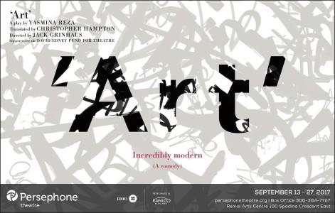 'art' A Play By Yasmina Reza