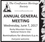 ANNUAL GENERAL MEETING Wednesday, June 7, 2017