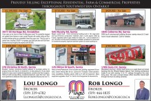 Proudly Selling Exceptional Residential, Farm & Commercial Properties throughout Southwestern Ontario!