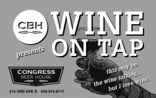 CBH presents WINE ON TAP