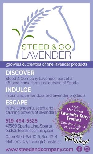 Enjoy Our Annual Lavender Fairy Festival Saturday, Aug. 12