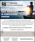 C.M. Steele INSURANCE BROKERS LTD.  BECAUSE BOAT INSURANCE IS COMPLICATED ENOUGH