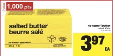 No Name butter salted at Real Canadian Superstore