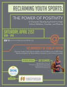 RECLAIMING YOUTH SPORTS:  THE POWER OF POSITIVITY