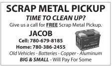 SCRAP METAL PICKUP TIME TO CLEAN UP?