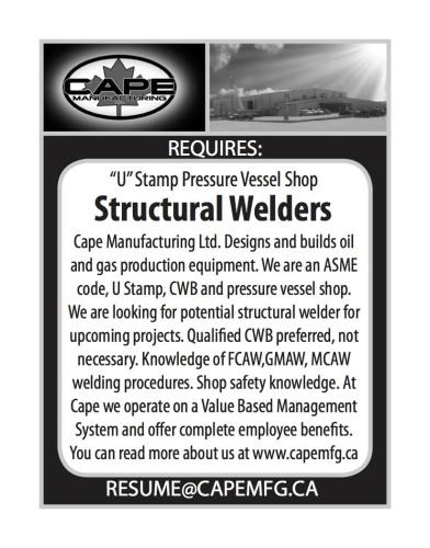 'U' Stamp Pressure Vessel Shop Structural Welders wanted