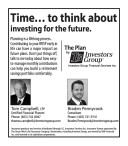 Time... to think about investing for the future.