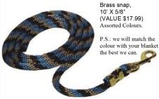 GET A FREE LEAD ROPE WITH ANY BUCAS BLANKET PURCHASE!