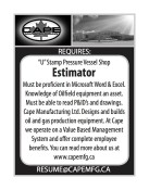 'U' Stamp Pressure Vessel Shop Estimator wanted