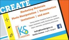 CREATE  Marketing Materials Photo Manipulations - Vectorization Invitations - and more