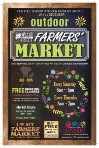 Our Full Season Outdoor Farmers' Market  May To December