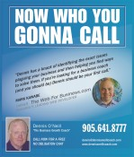 Need A Business Coach? Call Dennis O'Neill
