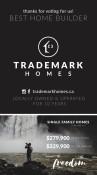 TRADEMARK HOMES voted BEST HOME BUILDER