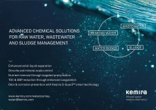 ADVANCED CHEMICAL SOLUTIONS FOR RAW WATER, WASTEWATER AND SLUDGE MANAGEMENT