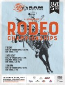 RAM RODEO TOUR  NEW MARKET RODEO CHAMPIONSHIP