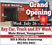 Grand Opening Wed. July 26 11am - 2pm
