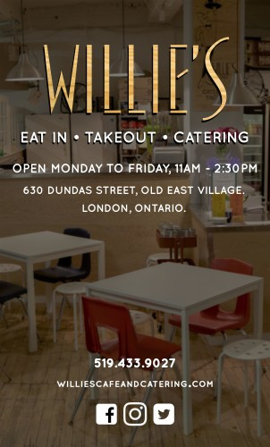 WILLIE'S EAT IN • TAKEOUT • CATERING