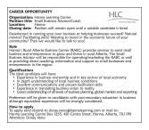 Hanna Learning Centre wants Small Business Advisor/Coach