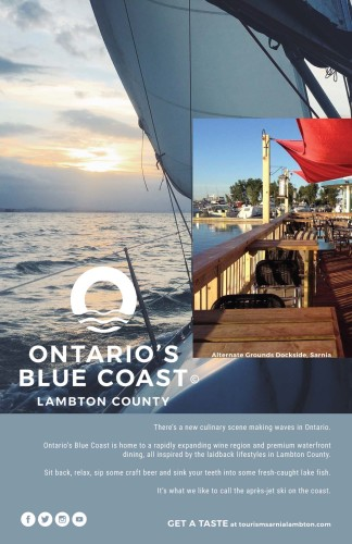 ONTARIO'S BLUE COAST LAMBTON COUNTY