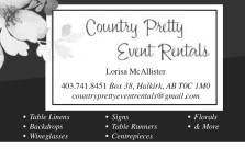 Country Pretty Event Rentals