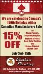 Celebrating Canada's 150th Birthday