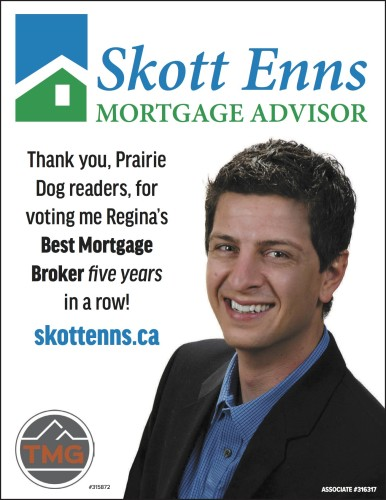 Thank you for voting me Regina's Best Mortgage Broker
