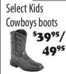 Select Kids Cowboys boots