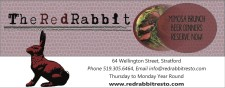 Reserve Now at The Red Rabbit