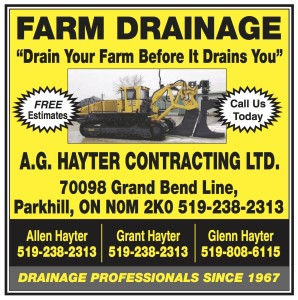 Farm Drainage From A.g. Hayter Contracting