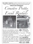 I WOULD LIKE TO INTRODUCE Country Pretty Event Rentals