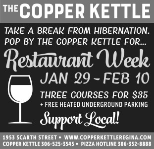 Restaurant Week At The Copper Kettle