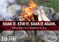 Make Sure Your Campfire Is Out