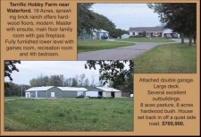 Terrific Hobby Farm near Waterford for sale
