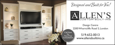 Allens Custom Built-Ins, Designed and Built for You!
