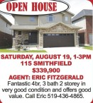 OPEN HOUSE at 115 SMITHFIELD